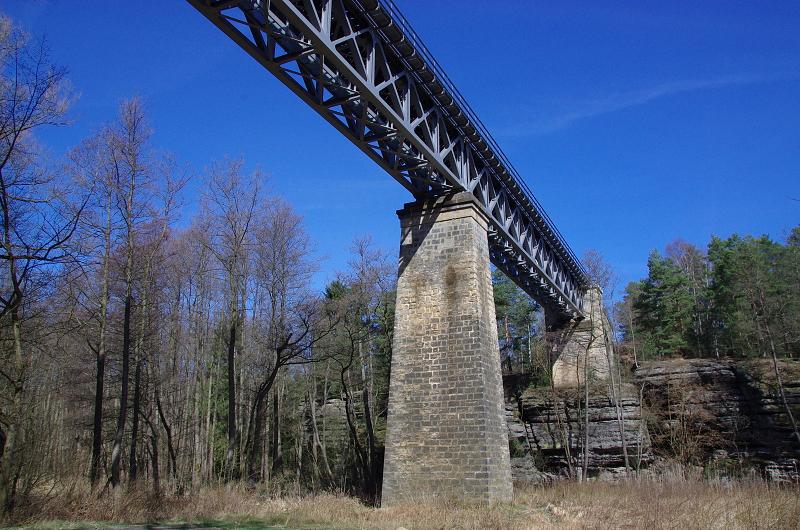Železniční most - Liběna Stiebitzová