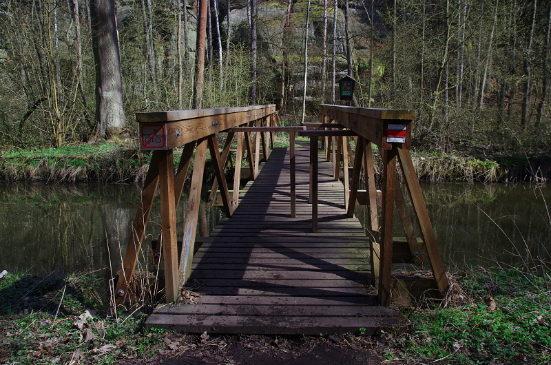 Za mostem je Peklo - Liběna Stiebitzová